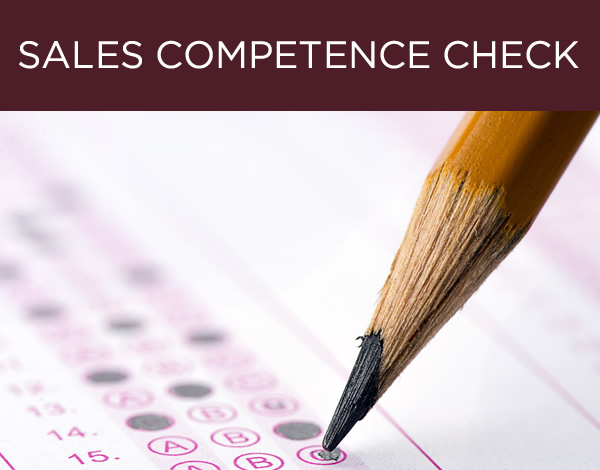 Sales Competence Check
